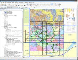 Washington State Geologic Map by Nps Gri Quick Status Maps Completed