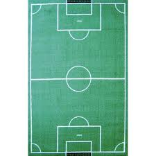 Sports Area Rug Rugs Time Soccer Field Sports Area Rug Time Walmart