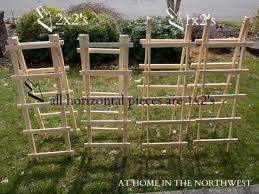 Simple Trellis Ideas I Think These May Be The Ticket We Can Make It Longer And Only On