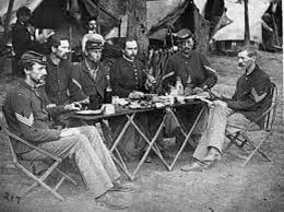 civil war soldiers celebrated thanksgiving in the field