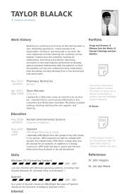 Technician Resume Examples by Pharmacy Technician Resume Samples Visualcv Resume Samples Database