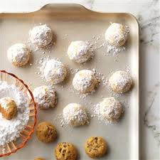 wedding cookies mole new mexican wedding cookies recipe taste of home