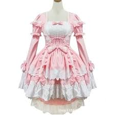 Victorian Dress Halloween Costume Black Pink Female Halloween Victorian Gothic Dress