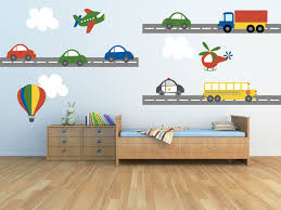 Wall Decals For Nursery Boy Truck Wall Decal Plane Wall Decal Car Wall Decal