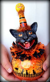 Vintage Style Halloween Decorations 116 Best Clay Makin Munchkins Images On Pinterest Christmas