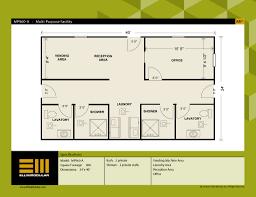 ellis modular buildings multi purpose facilities floor plans