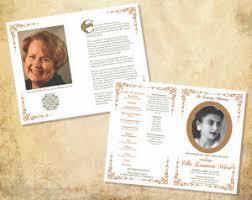 funeral memorial programs funeral memorial programs cherished keepsakes funeral programs
