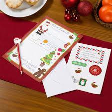 craft letter to santa kit