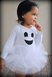 friendly ghost baby tutu bodysuit halloween ghost costume