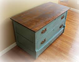 Refurbished Kitchen Cabinets Rustic Antique Dresser Painted In Provence Blue Annie Sloan