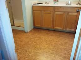 flooring cork flooring prosnd cons for bathrooms bathroom