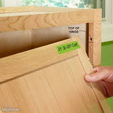 how to install cabinets like a pro the family handyman remove cabinet doors and drawers