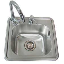 Outdoor Kitchen Sink Faucet by Outdoor Bars U0026 Sinks Outdoor Kitchens The Home Depot