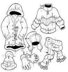 boots winter clothes coloring page invierno pinterest winter