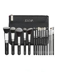 complete professional brush set by zoeva