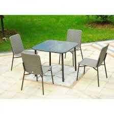 Wicker Patio Table Set Outsunny 3 Piece Chair And Table Rattan Wicker Patio Nesting