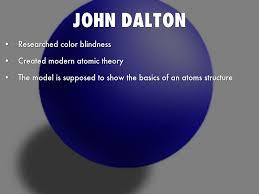 Was John Dalton Color Blind C By Beckyaj98