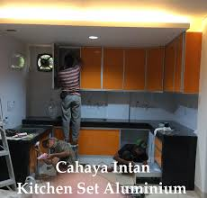 Kitchen Set Aluminium Jual Kitchen Set Aluminium Harga Murah Jakarta Oleh Toko Cahaya