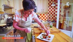 coté cuisine julie andrieu extrait de l émission les carnets de julie la côte de veau