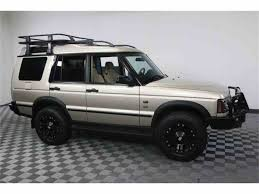 tan land rover discovery 2003 land rover discovery for sale classiccars com cc 984137
