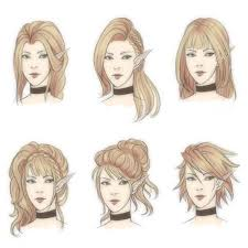 elf hairstyle