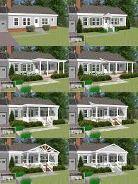 Front Porches On Colonial Homes by Great Front Porch Designs Illustrator On A Basic Ranch Home Design