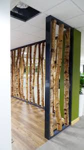 birch tree decor birch tree trunk screen custom frame decorative birch