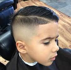 little boy comb over hairstyle skin fade comb over faux hawk mohawk boy haircuts pinterest