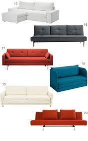 Modern Pull Out Sofa Bed by Best 10 Beach Style Sleeper Sofas Ideas On Pinterest Beach