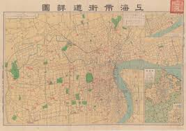 Map Of Shanghai China by Shanghai In Post 1949 Maps Secrets Lies And Urban Icons