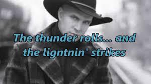 leave a light on garth brooks the thunder rolls lyrics garth brooks country music