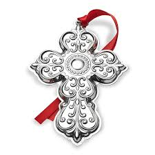 towle silver cross 2017 towle ornament cross