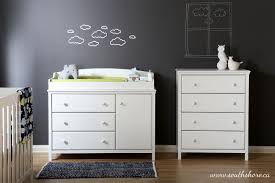 south shore cotton candy changing table with drawers soft gray south shore cotton candy collection changing table walmart canada
