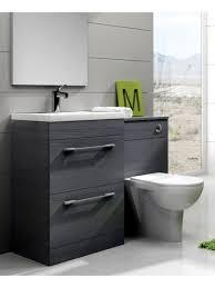 Grey Vanity Unit Slimline Vanity Units Bathroom Furniture Bathroom Decoration