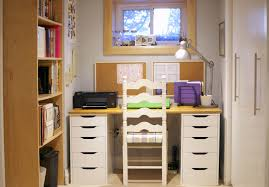 Small Room Office Ideas Office Small Space Home Office Design With A Desk And Chair In