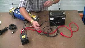 how to wire a 12v winch sherpa 4x4