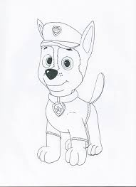 paw patrol coloring pages chase redcabworcester redcabworcester