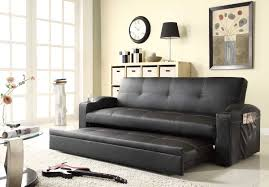 Homelegance Novak Elegant Lounger Sofa With Pull Out Trundle - Lounger sofa designs