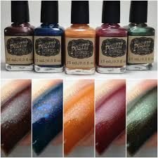 cdbnails poetry cowgirl nail polish autumn nights