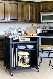 kitchen cart ideas movable kitchen counter smallslanddeas drop leaf cart microwave