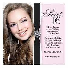 sweet 16 birthday invitations ideas templates u2013 bagvania free