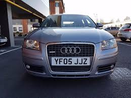audi a3 3 2 v6 quattro s line 2005 5dr manual panoramic