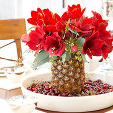 Pineapple Decoration Ideas Amaryllis Care And Decorating Ideas For Christmas From Better