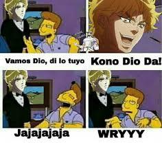 Dio Meme - 25 best memes about kono dio da kono dio da memes