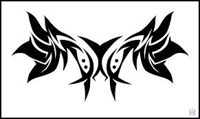 tribal shoulder blades by mechanicale on deviantart
