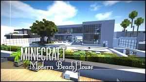 Modern Beach House by Minecraft Build Review Sleek Modern Beach House Youtube