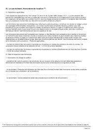 contrat location chambre chez l habitant contrat de colocation meublee contrat de location meubl e mod le