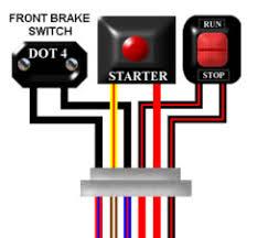 ariel arrow colour motorcycle wiring diagram