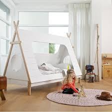 tente chambre enfant boho bedroom furniture lit design tente tipi vigvam cabane blanche