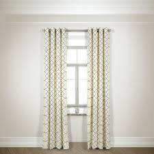Yellow And Grey Curtain Panels Ink Ivy Ankara Cotton Printed Curtain Panel Free Shipping On
